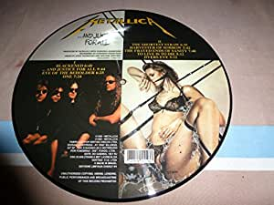 33T X1.METALLICA. PICTURE DISC.AND JUSTICE FOR ALL.PRESS BRAZIL.LIMITEE