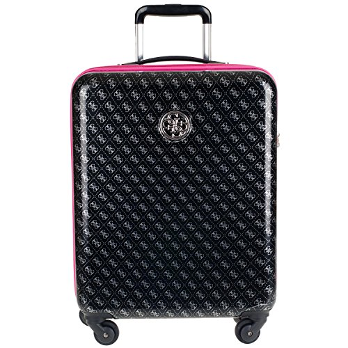 guess-piper-travel-ppebp720-4-rad-trolley-s-43x22x59cm-black-multi