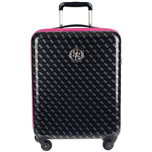 guess-piper-travel-ppebp720-4-rad-trolley-s-43x22x59cm-black-multi