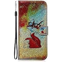 Lomogo Funda Galaxy 10, Cartera Funda de Cuero Ranuras para Tarjetas Cierre Magnetico Soporte Plegable Carcasa Antigolpes para Samsung Galaxy S10 - LOTXI150363 L2