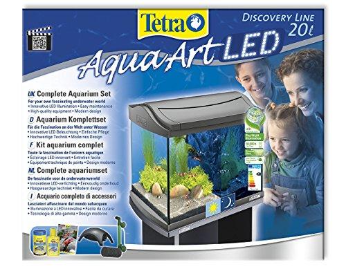 Tetra AquaArt LED Aquarium-Komplettset für Garnelen, 20 L - 3