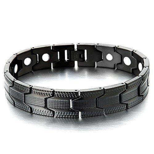 spezial-design-schwarz-armband-fur-herren-edelstahl-armband-mit-starken-magnete-link-tool-zum-entfer