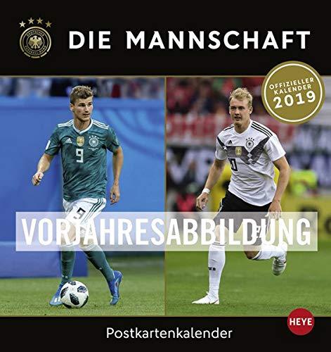 DFB Sammelkartenkalender Kalender 2020