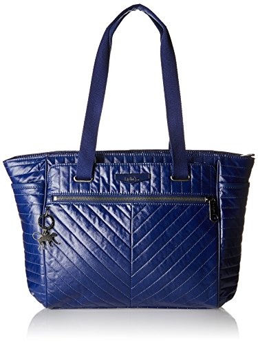 Kipling Damen ORINTHIA Shopper, Blau (Shiny Blue), 43x27x14 cm