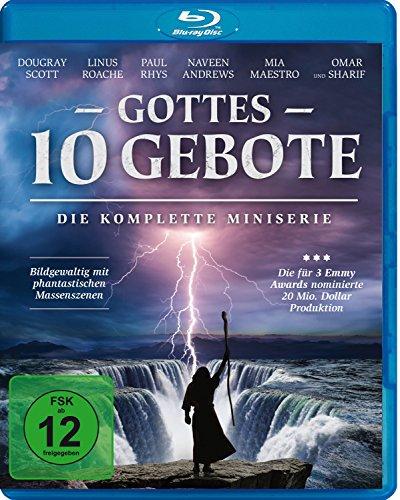 Gottes 10 Gebote - Die komplette Miniserie [Blu-ray]