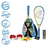 Speedminton S700 Set Unisex-Adulto, Giallo, 58 cm/RNUM