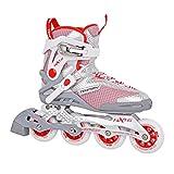 Unbekannt Tempish HX 1.6 84 / HX 1.6 90 Inline Skates + Ultrapower Beutelrucksack   Sport   Outdoor   Roller   Rollerskates   Rollschuhe, Tempish Größe:39, Tempish Farbe:HX 1.6 84mm Red/Gray