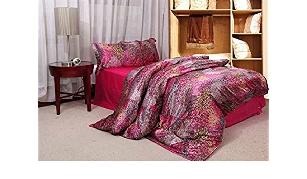 Fadfay Home Bettwäsche Textil Pfauenfeder Pfauenmotiv Bohemian