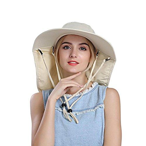 Honey Elektro-Fahrzeug-Masken-Hut-Fahrrad Im Freien Windundurchlässigen Sonnenschutz Sonnenhut Abnehmbare Mesh-Frauen (Farbe : Beige)