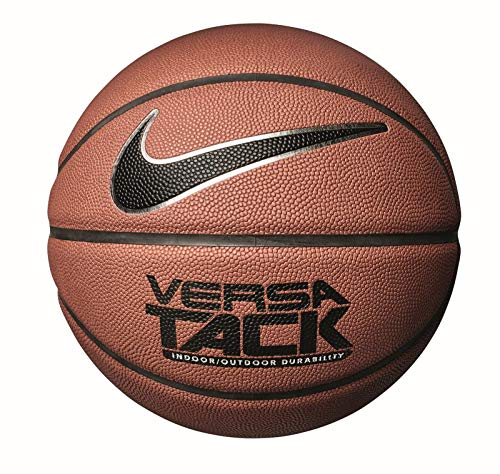 Nike Versa Tack 8P Basketball Unisex, braun (amber/Black/Metallic silver/Black - aa), 7 (Ball Basketball Nike Outdoor)