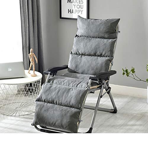 ALIPC Recliner Patio Chaise Liege Sitzkissen,atmungsaktiv Nicht-Slip Rocking Stuhlkissen Waschbarer Wicker Stuhl Sitzpolster(kein Stuhl)-e 125x50x12cm(49x20x5) (Küche Stühle Wicker)