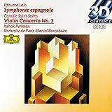 Lalo : Symphonie Espagnole - Saint-Saëns : Concerto pour violon n° 3