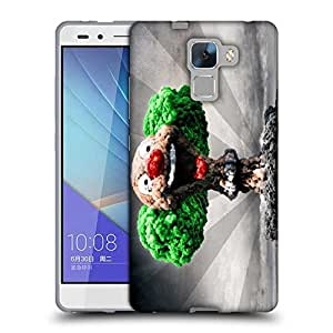 Snoogg Blast Joker Designer Protective Back Case Cover For Huawei Honor 7