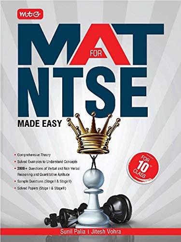 MAT FOR NTSE Class 10