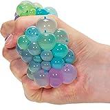 Rainbow Squishy Mesh Ball