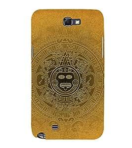 EPICCASE blurred mayan Mobile Back Case Cover For Samsung Galaxy Note 2 (Designer Case)