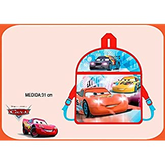 Kids Cars Mochila Infantil, Color Azul