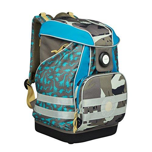 Lässig Gmbh 4Kids Schoolbag Dino Slate Cartable, 40...