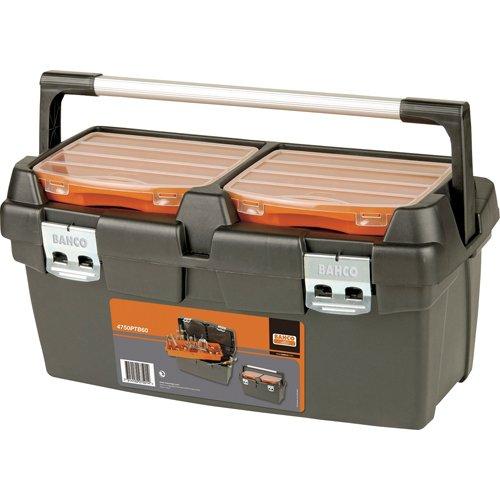 Bahco 4750ptb60plástico caja de herramientas, multicolor, 600x 305x 295mm