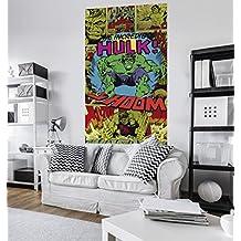 "Komar 1–vd-011""El shoom increíble Hulk Marvel Comics–Papel pintado, multicolor"