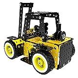 0Miaxudh Gabelstapler Fahrzeug Spielzeug 371 Stücke DIY Montage Bausteine Puzzles Kit Kinder Spielzeug