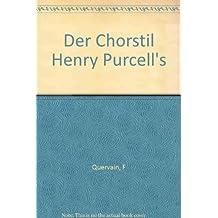 Der Chorstil Henry Purcell's