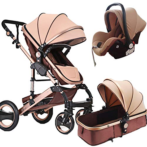 Kaysa-TS Set Lightweight Travel System, Von Birth High Landscape Stroller Seat Three-In-One