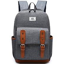 Unisex portátil bolsa bolso de escuela para ordenador portátil bolsa portátil bolsa–Mochila para portátil de 15, Dell, Asus, MSI (15pulgadas)