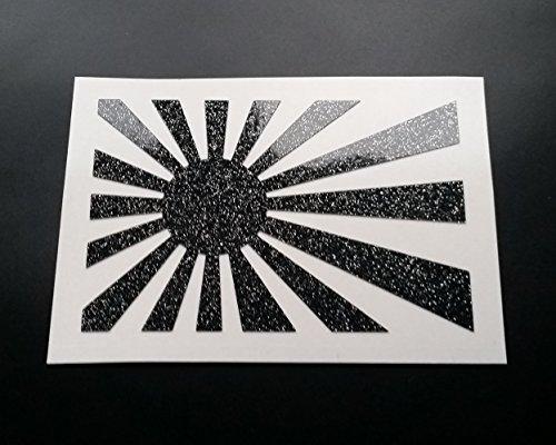 Preisvergleich Produktbild JDM Rising Sun groß Glitter Metall Flake Auto-Aufkleber Vinyl Aufkleber Graphic