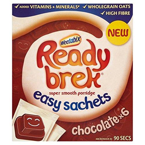 Prêt sachets de chocolat Brek 6 x 32g