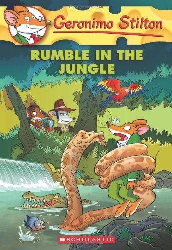 Geronimo Stilton #53: Rumble in the Jungle by Stilton, Geronimo (2013) Paperback