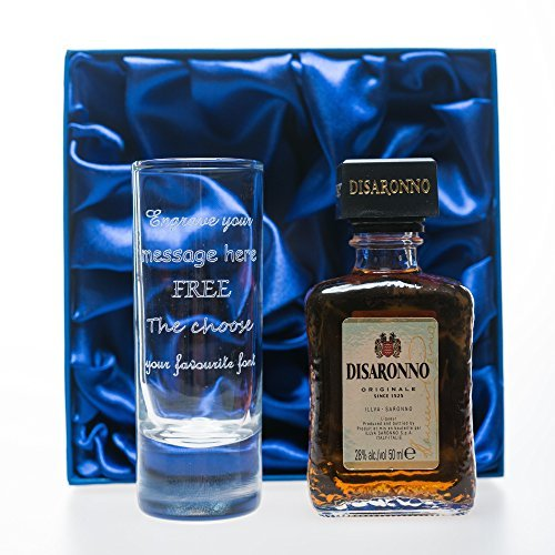 engraved-personalised-tall-shot-glass-disaronno-in-silk-gift-box-for-christmas-18th-21st-30th-40th-b