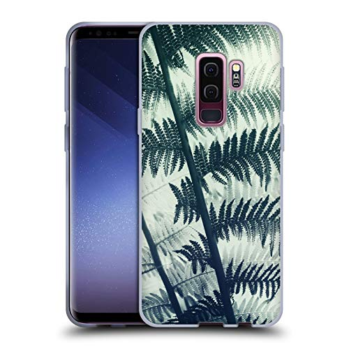 Head Case Designs Offizielle Dorit Fuhg Schildfarn Pflanzen Soft Gel Hülle für Samsung Galaxy S9+ / S9 Plus
