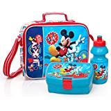 Mickey Mouse Lunch Bag Set - Lunch Bag / Sandwich Box / Water bottle