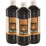6 x 1 L huile de paraffine pour lampe inodore - FRAIS DE PORT OFFERT - en bouteilles de 1 L