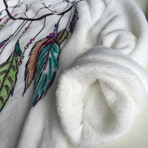 DELEY Femmes Filles Automne Hiver Chaud Impression Douce En Molleton Crewneck Hoodie Pullover Sweat-Shirt Top Blouses Chemisiers Éléphant A