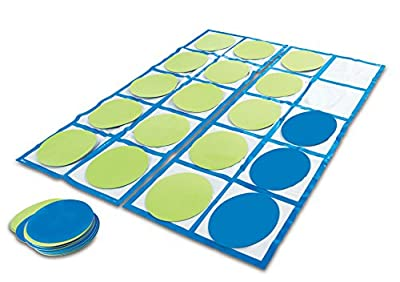Learning Resources Ten-Frame Floor Mat Activity Set from Learning Resources Ltd