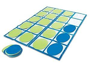 Set de actividades con cuadrícula de diez casillas para el suelo de Learning Resources