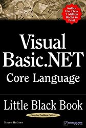 Visual Basic .NET Core Language Little Black Book by Steve Holzner (2003-01-02)