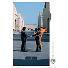 (24 x 36) Pink Floyd Póster de música (Wish You Were Here, Man on Fire)