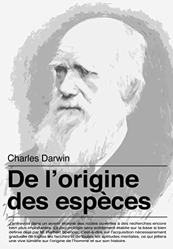 De l'origine des espèces par Charles Darwin