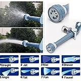 Haodasi 8 Düse Wasserkanone Gartenschlauch Befestigung Spritzpistole -Auto-Waschmaschine Werkzeug
