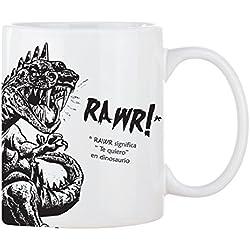 Taza Mug Dinosaurio