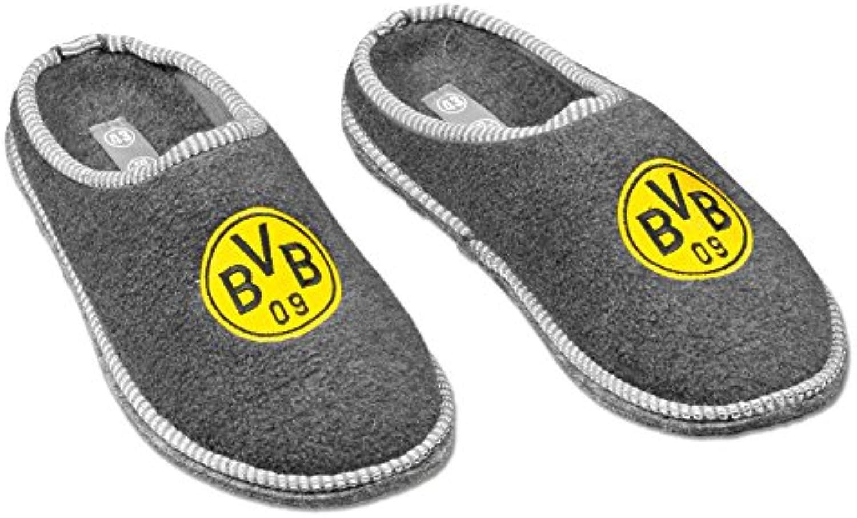 Borussia Dortmund BVB de pantuflas de fieltro