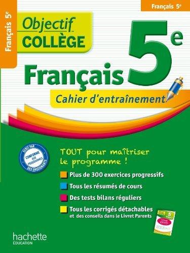 OBJECTIF COLLEGE FRANCAIS 5EME de Isabelle Lisle (de) (6 février 2013) Broché