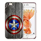 blitz-versand-germany Blitz® AVENGERS HELDEN Schutz Hülle Transparent TPU Cartoon SAMSUNG Galaxy Logo Captain America M11 A5 2016