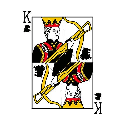 King Joffrey Playing Card Game Of Thrones Men's T-Shirt White