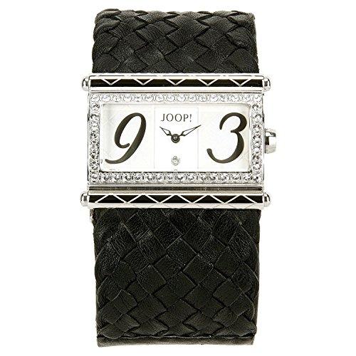 Joop! Damen-Armbanduhr Analog Quarz Leder JP100362005U