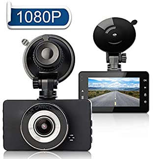 Dashcam-FAGORY-Autokamera-Full-HD-1080P-Armaturenbrett-Kamera-3-Zoll-LCD-Bildschirm-Recorder-170–Weitwinkel-mit-G-Sensor-Loop-Aufnahme-Nachtsicht-Bewegungserkennung-Parkmonitor