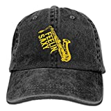 Fashion Home Feelin Saxy Funny Saxophone Vintage Adjustable Cowboy Hat Trucker Cap ForAdult